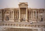 Palmyra Theaterfassade 1993