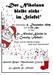 Der Nikolaus bleibt nicht im Stiefel Plakat web