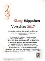 Klanghaeppchen Vorschau 2017