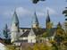 Blick auf die Kirche aus der Lindenstr