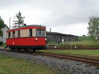 Triebwagen T1 in Stiege