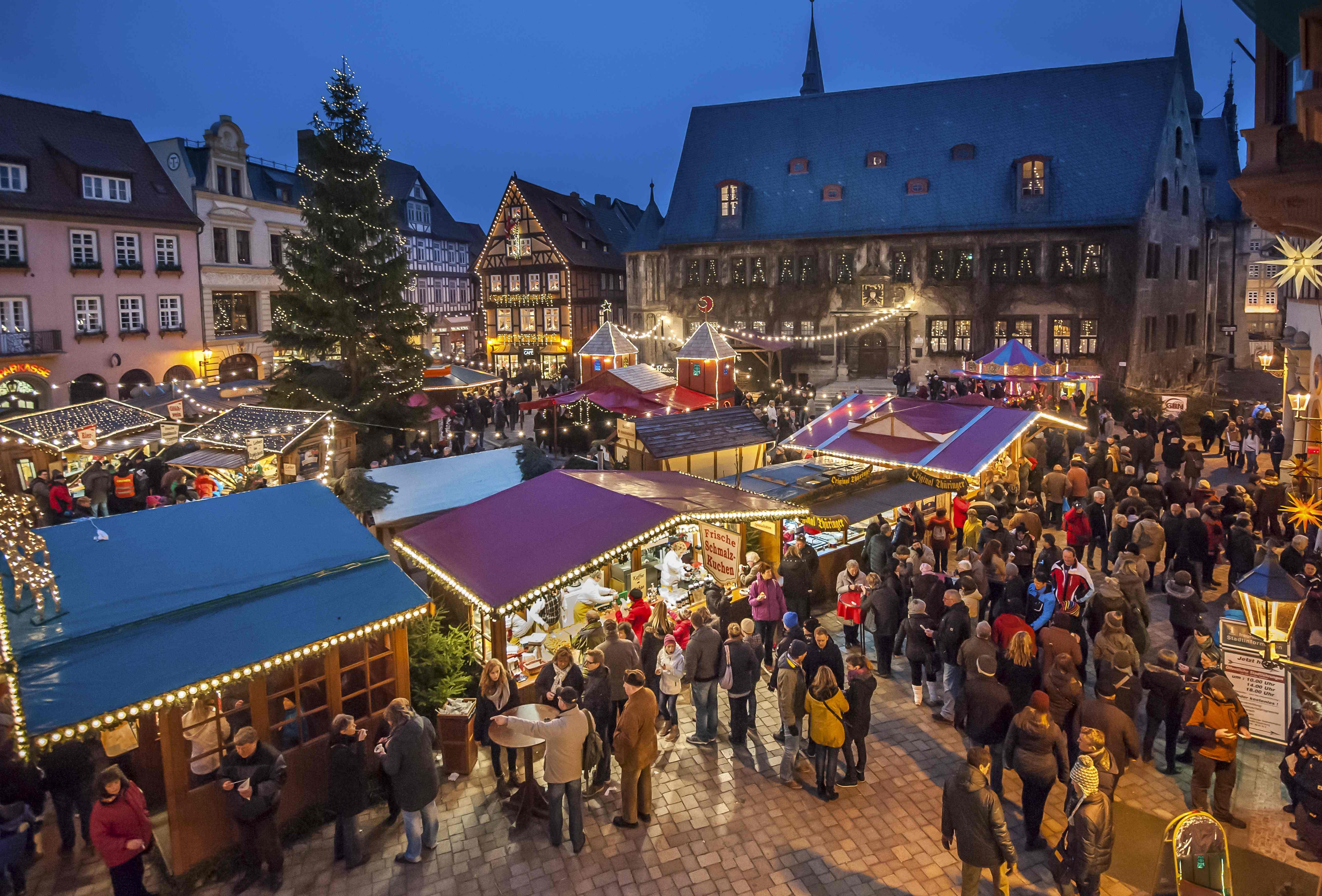Logo für Veranstaltung Quedlinburger Weihnachtsmarkt