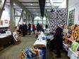 Kunsthandwerker arbeiten 10 Tage lang und pr�sentieren ihre Produkte in der Rathausscheune