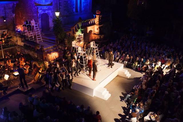 Logo für Veranstaltung 22. Wernigeröder Schlossfestspiele - 3. Vorstellung Faust