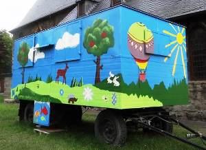 Logo für Veranstaltung Bauwagen im Stadtfeld Wernigerode