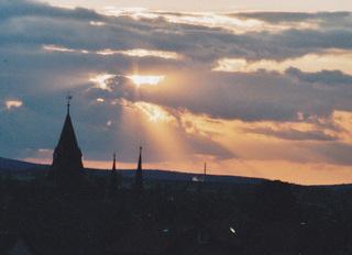 Sonnenuntergang_Wernigerode