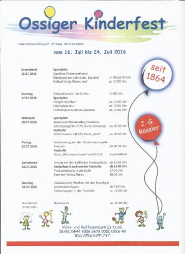 Gutenborn - Ossiger Kinderfest