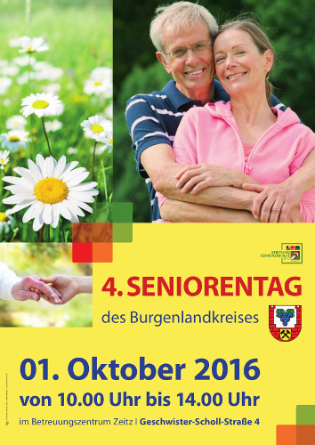 VerbGem - Seniorentag Plakat