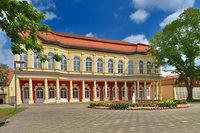 Schlossgartensalon Springbrunnen
