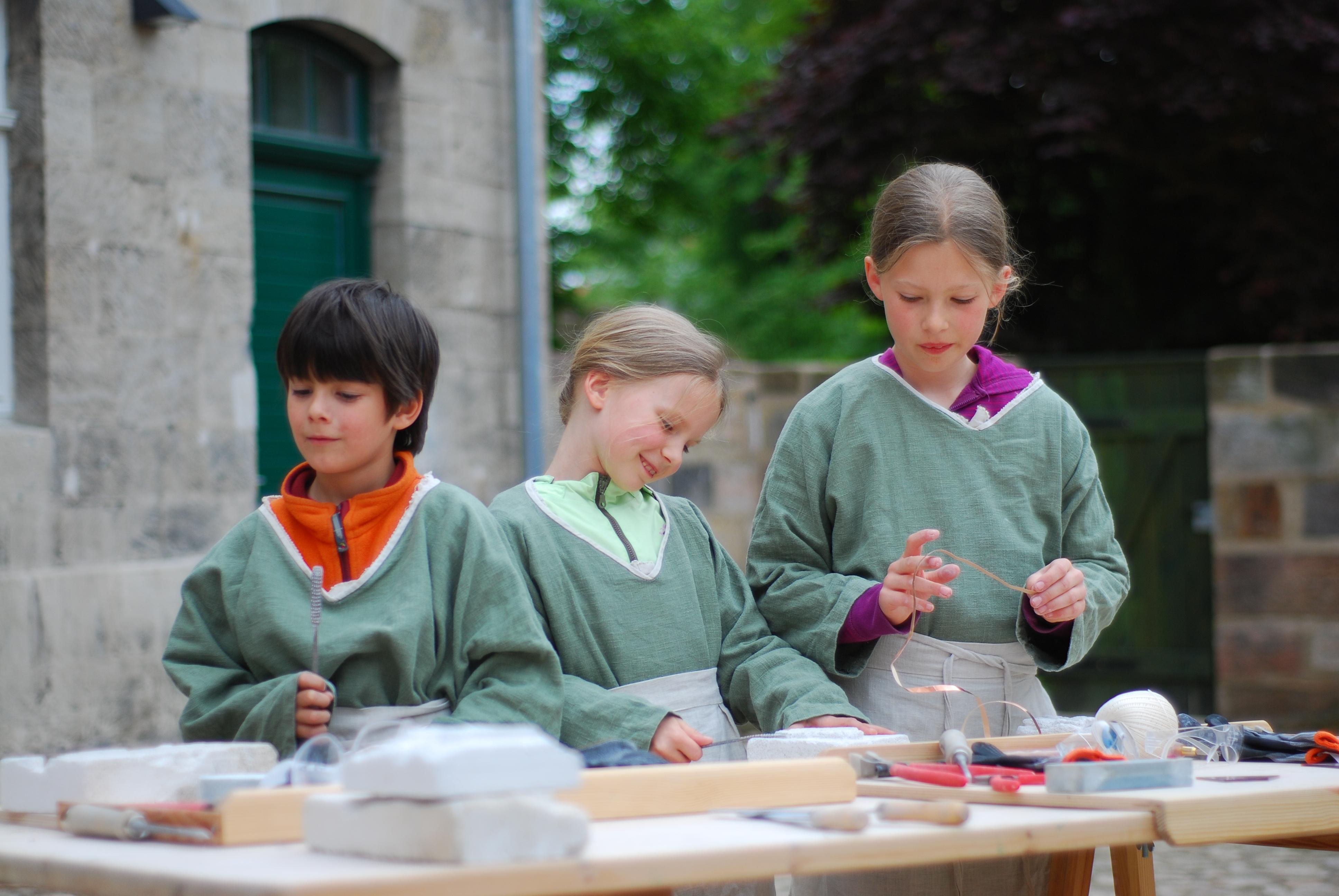 Logo für Veranstaltung Ferienaktionen in der Naumburger KinderDomBauhütte