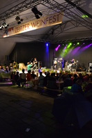 Weinfest 2015 - Bühne, Nacht